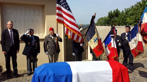 Alfred de Grazia funeral with national honors July 18, 2014