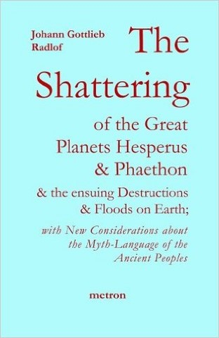 Radlof The Shatering of the Great Planets Hesperus and Phaethon... metron publications